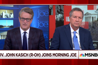 """Gov. Kasich: """"in my lifetime I've never seen this country divided like this"""""""