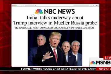 Exclusive: Trump lawyers discussing interview with Mueller