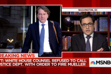 NYT reporter Michael Schmidt on Trump's attempt to fire Mueller