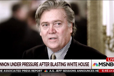 Can Bannon 'exist and survive' on his own?