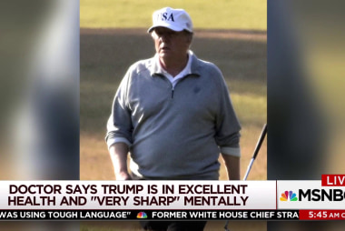'Girther' conspiracy questions Trump's weight, height