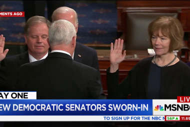 New Democratic Senators sworn-in
