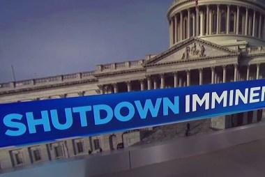 Threat of gov't shutdown looming over Congress