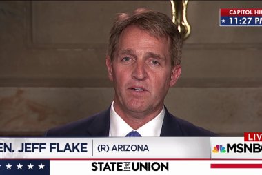 Flake: 'I have confidence in the FBI'