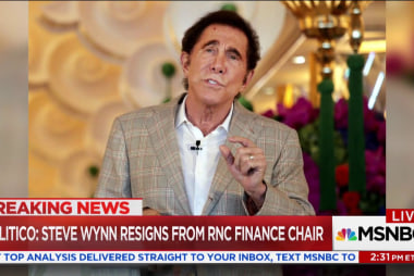 Steve Wynn resigns from RNC finance chair amid sexual misconduct claims