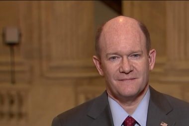 Coons: Another government shutdown is 'hypothetical'