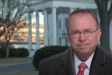 Full Mulvaney Interview: 'Unrealistic' to expect a full budget deal