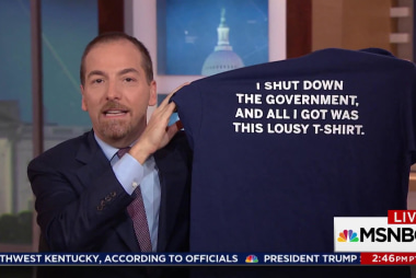 Chuck: It shouldn't be so easy to shut down the government