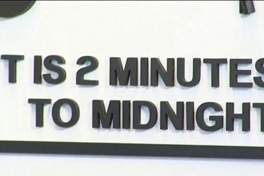 Doomsday clock moves two minutes to midnight