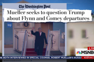Reports: Mueller to speak with Trump following Comey and Sessions interviews