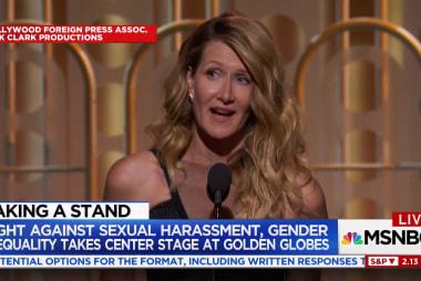 Laura Dern's Golden Globes speech