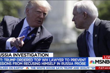 Just how far Trump went to try and stop Sessions from recusing himself