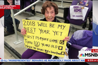 NFL gives 99 year old Vikings fan free Super Bowl tickets