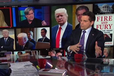 Full interview: Scaramucci on Bannon, Don Jr., and Russia probe