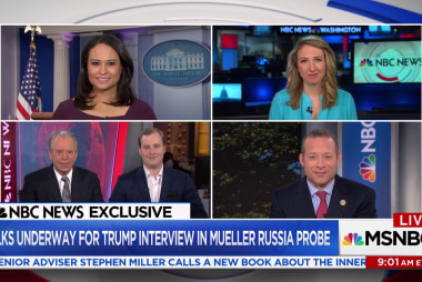Trump team weighing options if Mueller asks for an interview: NBC exclusive