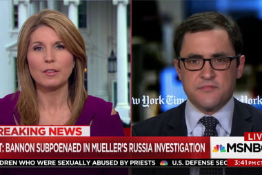 Mueller singling out Steve Bannon?