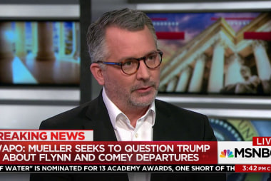"""Fmr. GOP Rep.: Trump """"in the most jeopardy of anybody"""""""