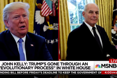 Tensions rising between Trump & John Kelly?