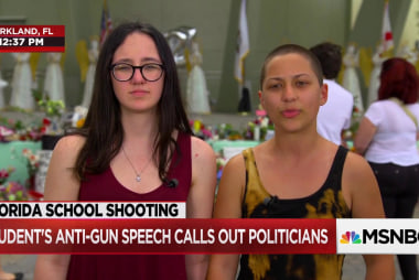 """Parkland student to Congress: """"This is our fight now, because you messed it up"""""""