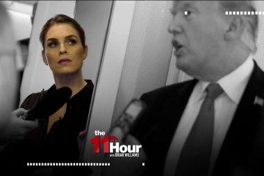 NYTimes: New scrutiny for Hope Hicks in Mueller probe