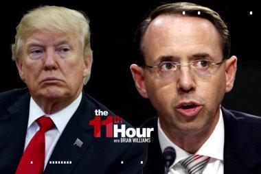 After Nunes memo's release, Trump fails to back Rosenstein