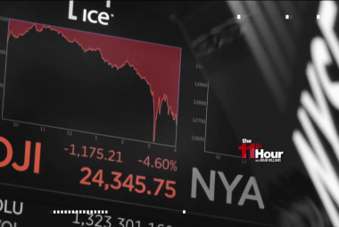 Markets suffer huge losses as Trump touts his tax plan