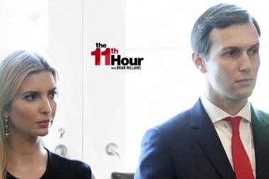 Where were Ivanka & Kushner as Trump raged over Russia?