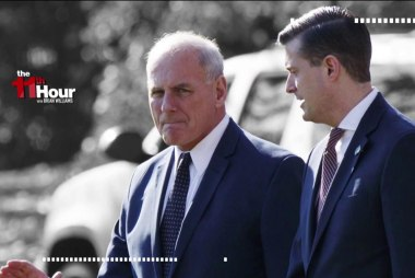 Questions over what John Kelly knew & when about Rob Porter