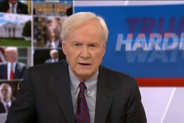 Matthews: Trump isn't above the law