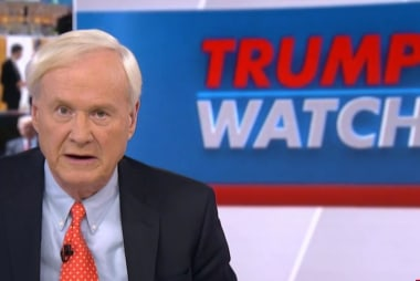 Matthews: I worry about Trump's power as President