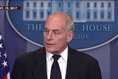 White House Chief of Staff Kelly under fire