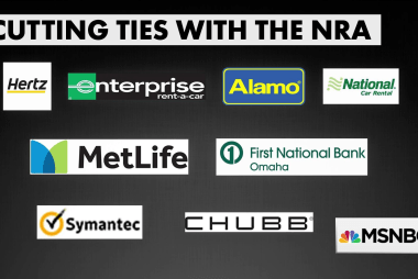 Companies cut business ties with NRA