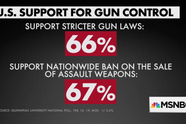 New poll: Highest level of support for gun control ever