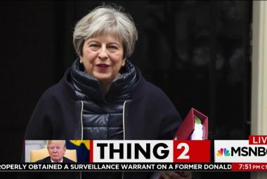 UK leaders rebuke Trump for health care tweet
