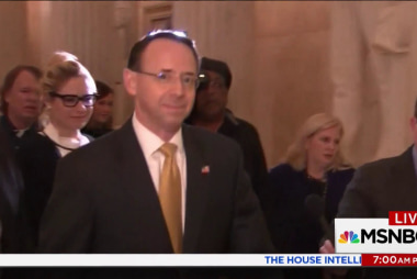 Rep. Lieu: 'People would take to streets' if Rosenstein fired
