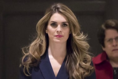Hope Hicks reportedly admits telling 'white lies' for Trump