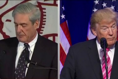 Lawyers involved in probe: Mueller may indict Trump