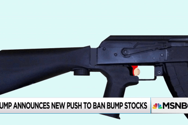 Trump asks DoJ for recommendations on bump stock regulation