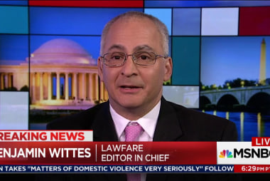 Wittes: Brand denies undue pressure to leave Justice Department