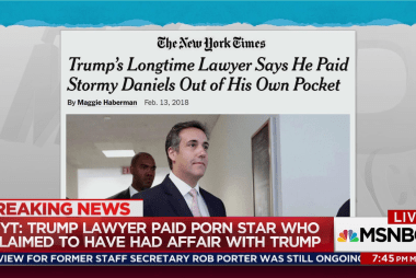Trump lawyer says he paid Stormy Daniels from own money: NYT