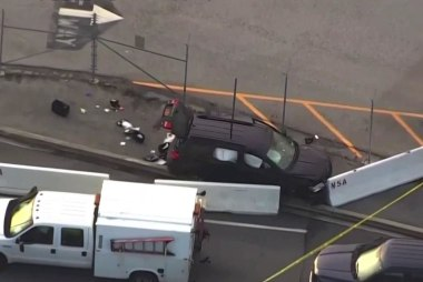 Shooting occurs outside NSA headquarters
