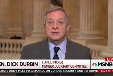 Senator Durbin: We are making progress on a deal