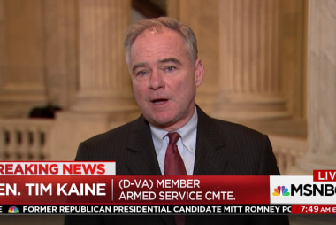 Sen. Tim Kaine: Don't be afraid of the NRA