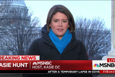Dem division in House over budget bill: Kasie Hunt