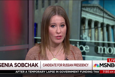 Ksenia Sobchak explains why she's running against Putin
