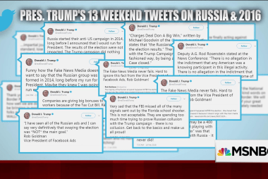 Trump's weekend Twitter use 'was a meltdown'