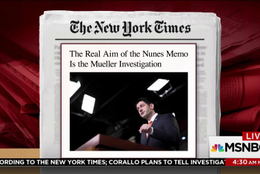 Why memo has everything to do with Mueller: NYT