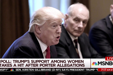 Why Trump can't defend female accusers