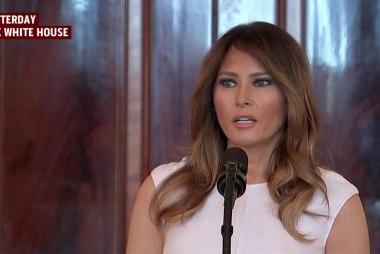 Melania Trump calls for kindness and compassion
