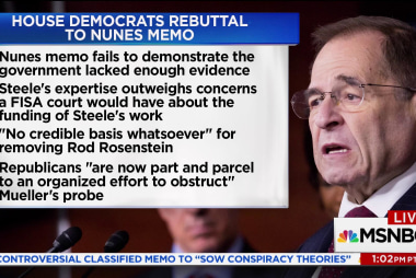 Rep. Nadler: Memo gives 'no credible basis' for removing Rosenstein
